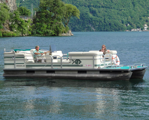 PONTOON AQUADECK 80CV