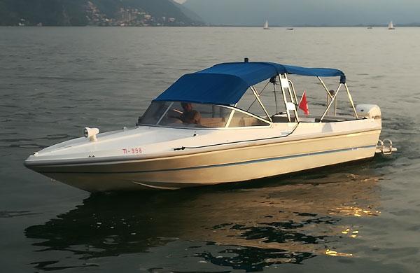 servizio taxi sul lago di lugano